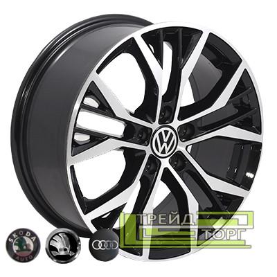 Литой диск Zorat Wheels BK713 7x16 5x112 ET45 DIA57.1 BP