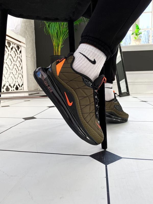 Мужские кроссовки Nike Air Max 720 818 в стиле найк аир макс ХАКИ (Реплика ААА+)