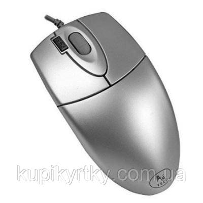 Мышка A4tech OP-620D Silver-USB