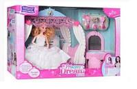 Мебель для куклы спальня 836