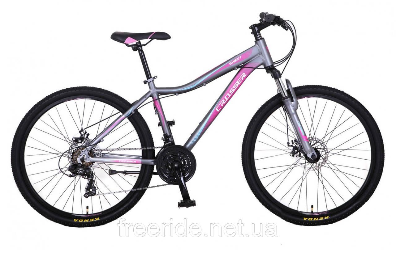Подростковый Велосипед Crosser Sweet 24 (14)