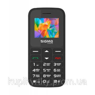 Мобильный телефон Sigma Comfort 50 HIT2020 Black (4827798120910)