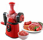Ручная мясорубка Meileyi Hand Crank Manual Meat MLY-663 | Механическая мясорубка, фото 8