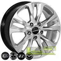 Литой диск Zorat Wheels BK5212 6.5x16 5x108 ET37 DIA65.1 HS