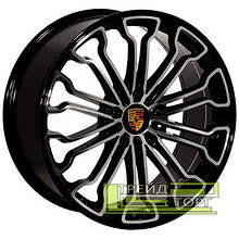 Литий диск Zorat Wheels BK601 11x20 5x130 ET55 DIA71.6 BP