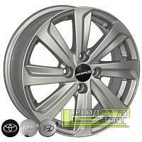 Литой диск Zorat Wheels BK736 5.5x15 4x100 ET45 DIA54.1 S