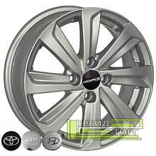 Литий диск Zorat Wheels BK736 5.5x14 4x100 ET35 DIA67.1 S