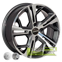 Литой диск Zorat Wheels D5139 6.5x15 4x108 ET18 DIA65.1 MGRA