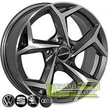 Литий диск Zorat Wheels BK5340 6.5x16 5x100 ET35 DIA57.1 GP