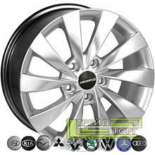 Литий диск Zorat Wheels BK438 6.5x15 5x100 ET35 DIA57.1 HS