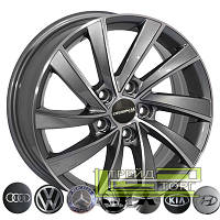 Литой диск Zorat Wheels BK5290 6.5x16 5x114.3 ET40 DIA67.1 GP
