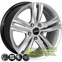 Литий диск Zorat Wheels BK5293 7.5x17 5x112 ET45 DIA57.1 HS
