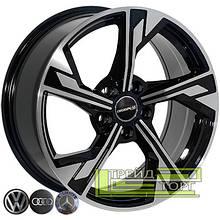 Литий диск Zorat Wheels BK5419 7.5x17 5x112 ET35 DIA66.6 BP