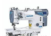 MAQI 8750EZN-D4 Двухигольная машина с отключением игл, увеличенным челноком и  автоматическими функциями