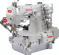 BRUCE BRC-264BDII-01CBx356/UT Промышленная плоскошовная машина с платформой мини-цилиндр и автоматическими