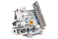 BRUCE BRC-009VCDI-08064P/UTL 8 игольная машина цепного стежка с автоматическими функциями