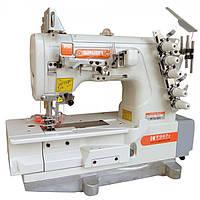 Siruba F007KD-W122-364/FHA плоскошовная швейная машина с устройством для подгибки со встроенным сервомотором
