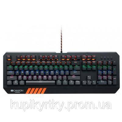Клавиатура CANYON CND-SKB6-RU Black (CND-SKB6-RU)