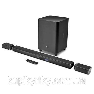 Акустическая система JBL Bar 5.1 Channel 4K Ultra HD Soundbar with True Wireless (JBLBAR51BLKEP)
