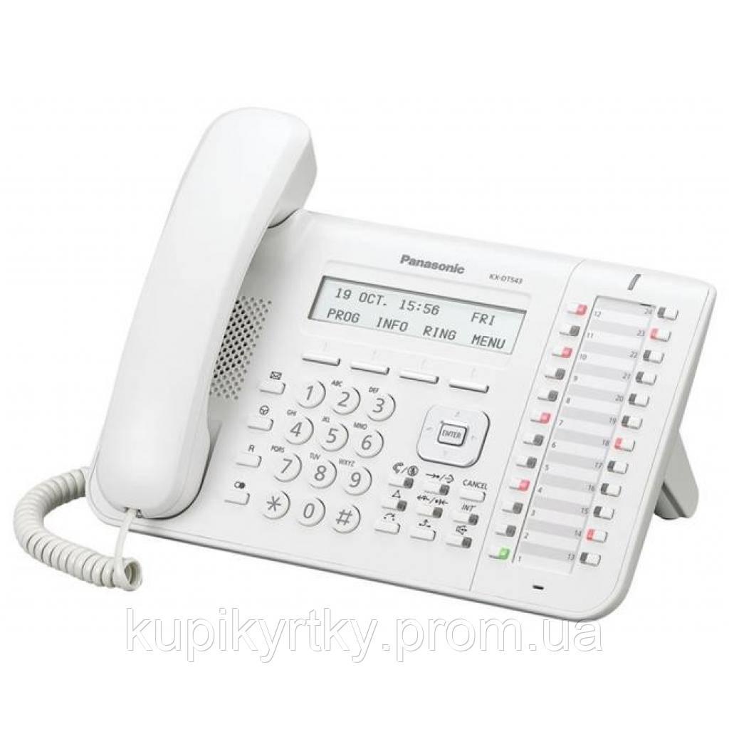 Телефон PANASONIC KX-DT543RU