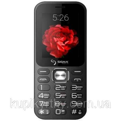 Мобильный телефон Sigma X-style 32 Boombox Black (4827798524312)