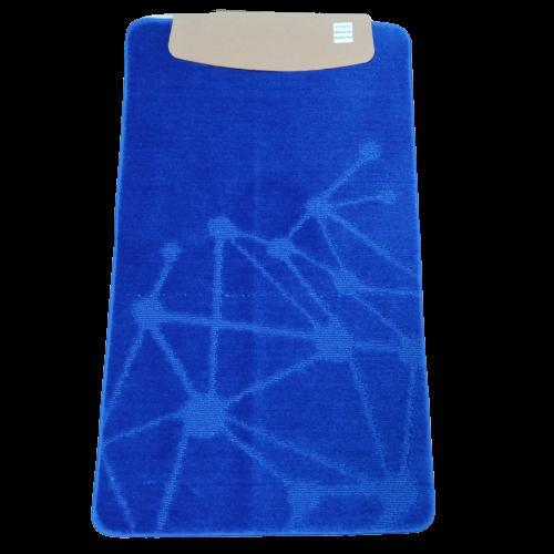 Коврик для ванной комнаты Venus standart синий 60x100 / 60х50 см