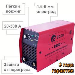 Сварочный инвертор Edon ТB-300В (3 года гарантии, защита от перегрева)