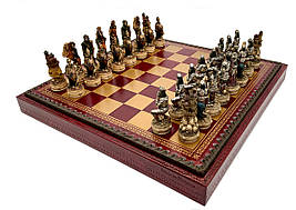 """Подарочный комплект Italfama """"Skeletons"""" шахматы, шашки, нарды"""