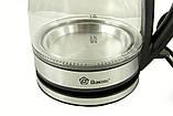 Электрочайник Domotec MS-8110 чайник стекло, фото 2