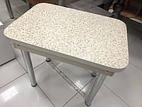 Кухонний стіл на хромованих ніжках, фото 1