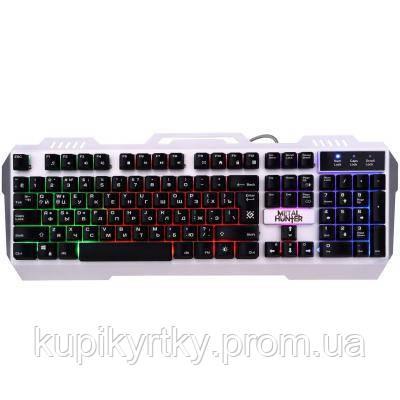 Клавиатура Defender Metal Hunter GK-140L RU RGB (45140)