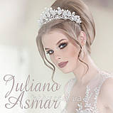 Aisha - Діадема з перлами (6,5см), фото 5