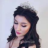 Aisha - Діадема з перлами (6,5см), фото 8