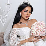 Aisha - Діадема з перлами (6,5см), фото 9