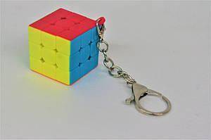 Брелок Кубик Рубика 3х3 Plane keychain QY3062 (без наклеек) QiYi