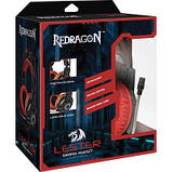 Наушники Redragon Lester Black-Red (64541), фото 6