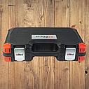 """Автомобильный набор инструментов для авто кейсы. Набор насадок торцевых и бит 3/8"""" 39шт CrV (6003092), фото 9"""