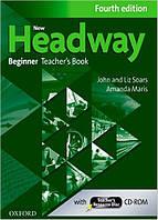 New Headway 4th Ed Beginner: Teacher's Book & Resource Disk Pack