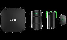 Расширенный комплект беспроводной сигнализации Ajax StarterKit Plus black ( Hub