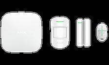 Расширенный комплект беспроводной сигнализации Ajax StarterKit Plus white ( Hub