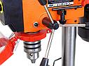 Сверлильный станок Schwarzbau DP4115B 1400 Вт +тиски, фото 9