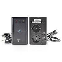 ИБП Ritar  E-RTM500 (300W) ELF-L, LED, AVR, 2st, 2xSCHUKO socket, 1x12V7Ah, metal Case Q4 (310*85*140)
