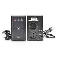 ИБП Ritar  E-RTM850 (510W) ELF-L, LED, AVR, 2st, 2xSCHUKO socket, 1x12V9Ah, metal Case Q4 (370*130*210)  5,8кг