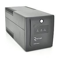 ИБП Ritar  RTP1500 (900W) Proxima-L, LED, AVR, 3st, 4xSCHUKO socket, 2x12V9Ah, plastik Case ( 340 x 140 x 170