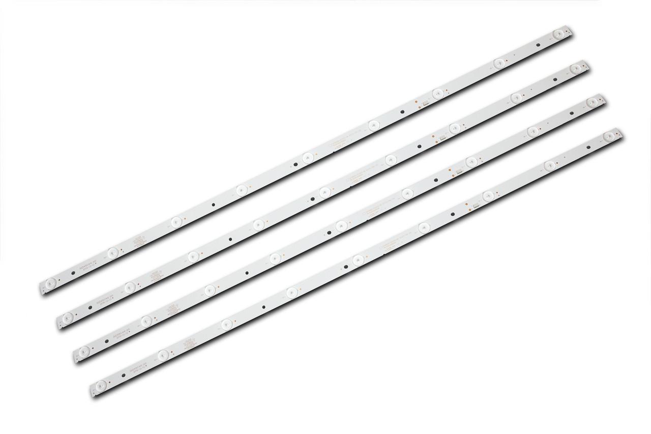 Комплект светодиодной подсветки DLED43GC4X9, GC43D09-ZC21FG-04, GC43D09-ZC21FA-01, GC43D09-ZC23FG-01