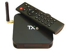 Медиа приставка TX-6 2/16G Smart TV Box ( Android 9.0, ОЗУ 2 Гб, 16Гб встроенной памяти,4-х ядерный процессор