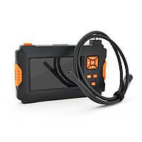 Эндоскоп P30,  мини камера 8 mm, LCD дисплей -4.3 дюйма, подсветка 8 светодиодов, длина кабеля 1м