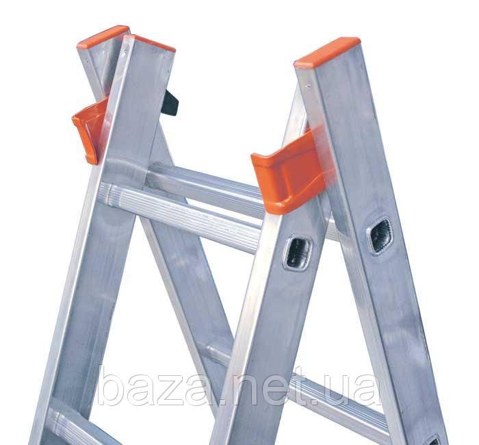 Двухсекционные лестницы KRAUSE Универсальная двухсекционная лестница Dubilo KRAUSE 2x9 ступеней