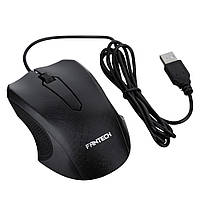 Мышь проводная T530, 3 кнопки, 1000 DPI, 1,5м, Win7/8/10 Mac OS, Black, COLOR BOX (138*56*192) 0.23 кг, Q100