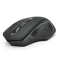 Мышь беспроводная Apendra E-1800, 4 кнопок, 800/1200/1600 DPI, 2.4Ghz 10м, Win7/8/10 Mac OS, 2*AAA, Black,